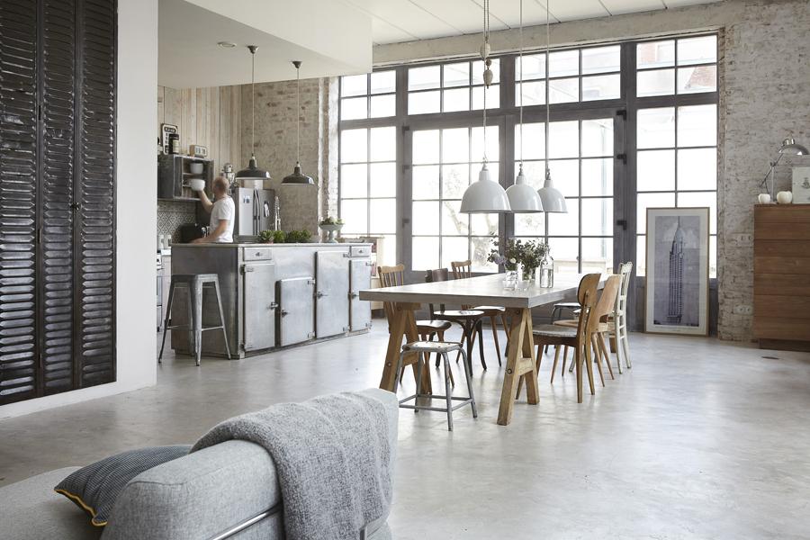 Rum hemma industriell romantik i vaffelfabriken 1