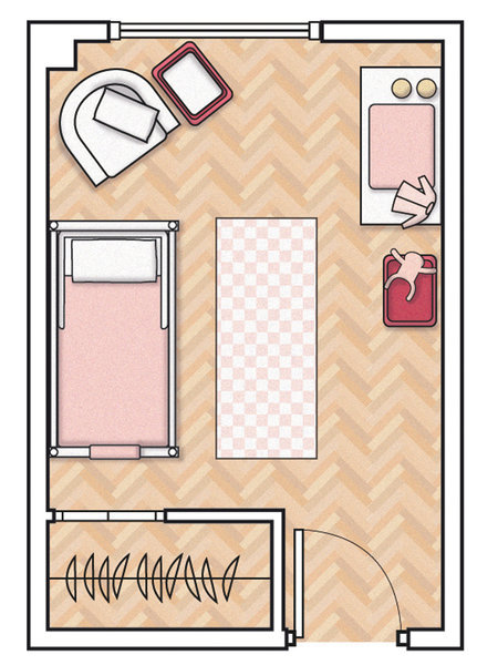 MICASA Un dormitorio infantil de 12 m2 5