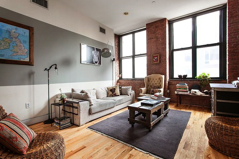Decordemon apartment in new york - Casa tipo loft ...