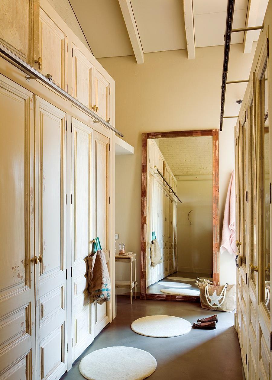 El Mueble dormitorio un aire vintage en azul y rosa 4