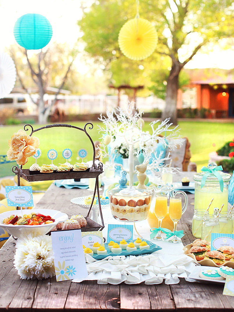 Easter Kim Stoegbauer Brunch Table 1