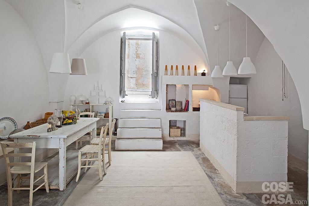 A rustic house in puglia italy for Interni abitazioni
