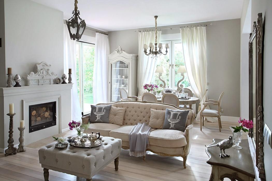 Интерьеры домов в стиле прованс