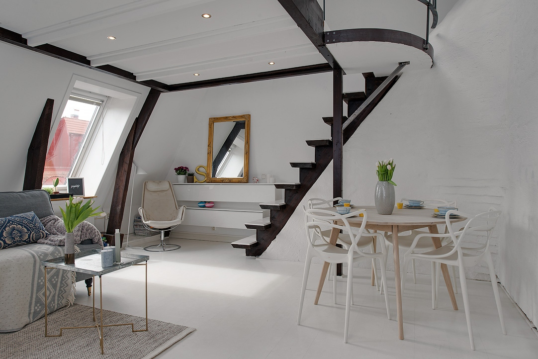 Stebbing house desing apartamento abuhardillado for Abuhardillado