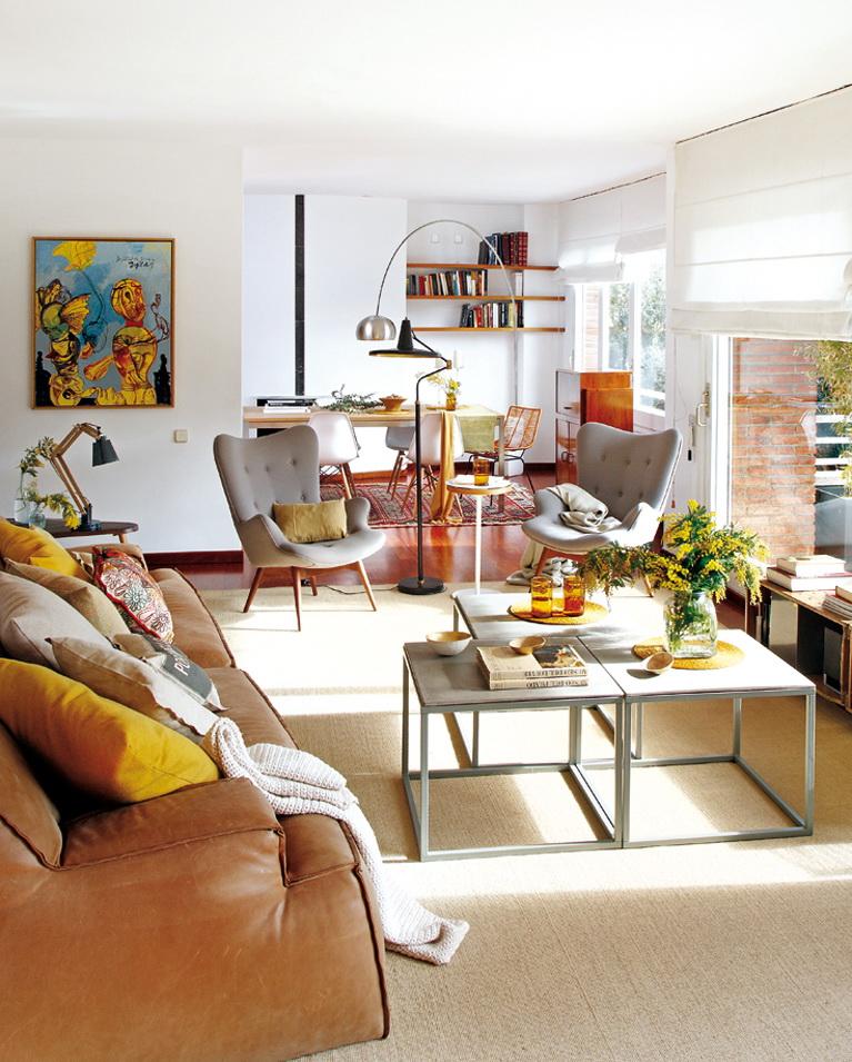 Micasa Un piso luminoso de estilo vintage 1