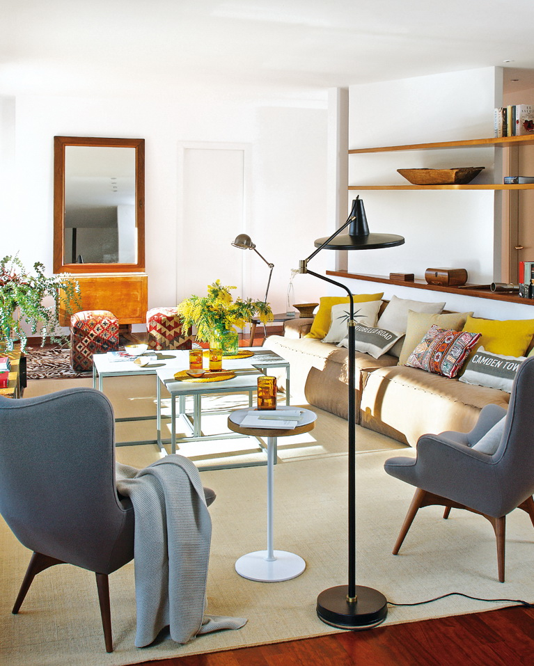Micasa Un piso luminoso de estilo vintage 2