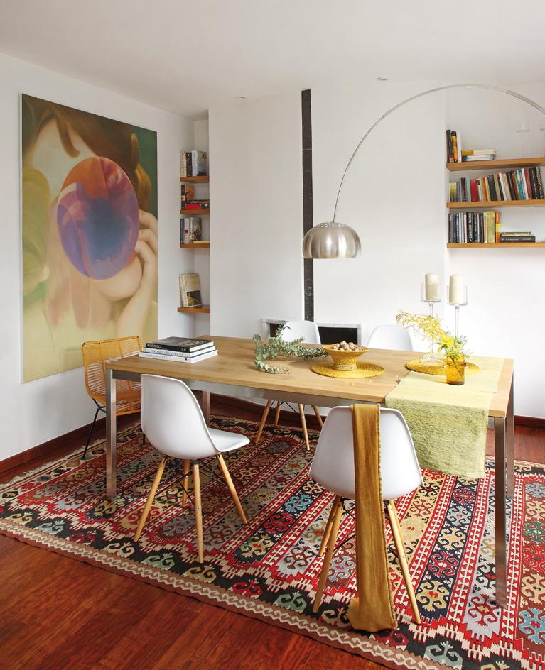 Micasa Un piso luminoso de estilo vintage 6