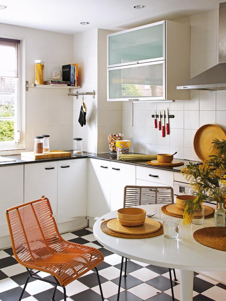 Micasa Un piso luminoso de estilo vintage 7