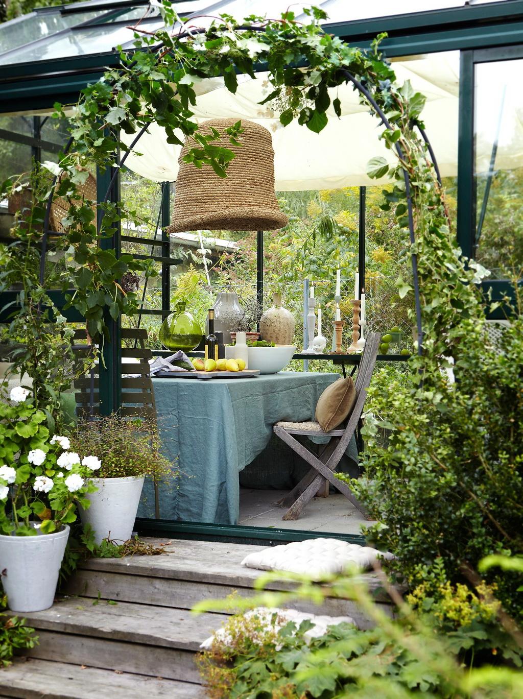 invernaderos para jardines especiales plantas