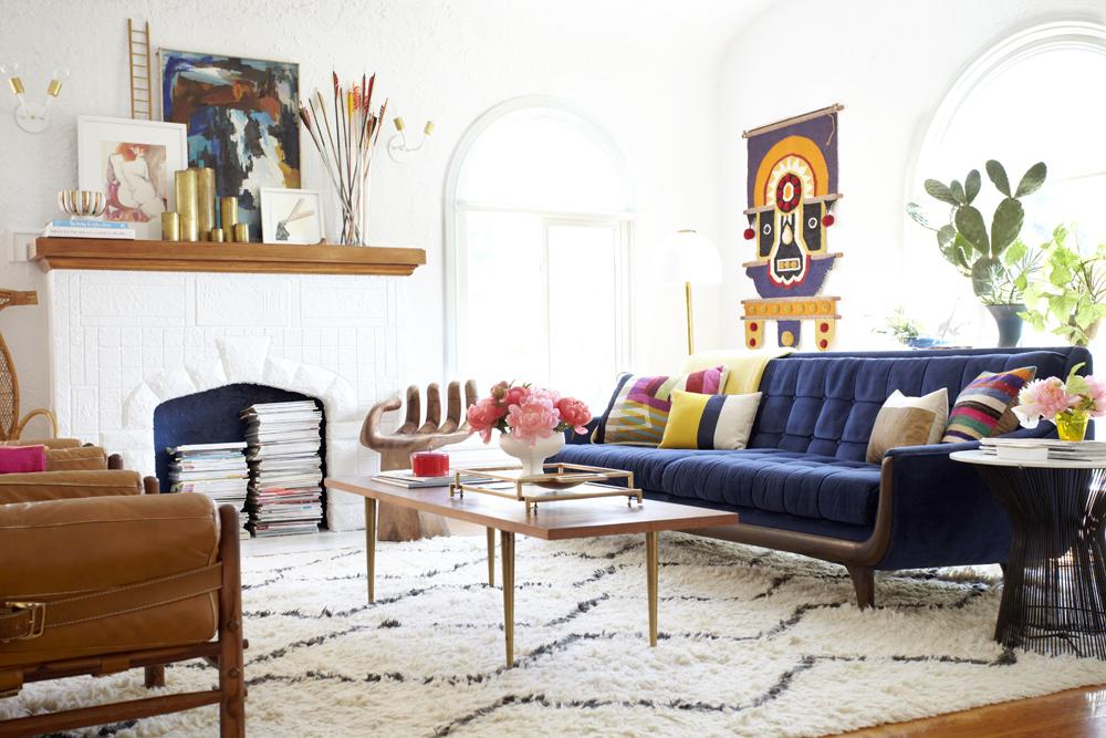 Emily Henderson Living Room 1