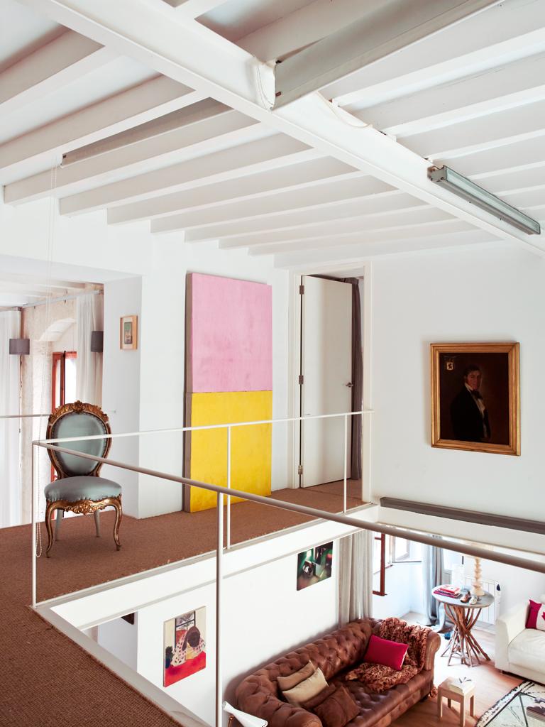 Nuevo Estilo Una casa con mucho arte 9