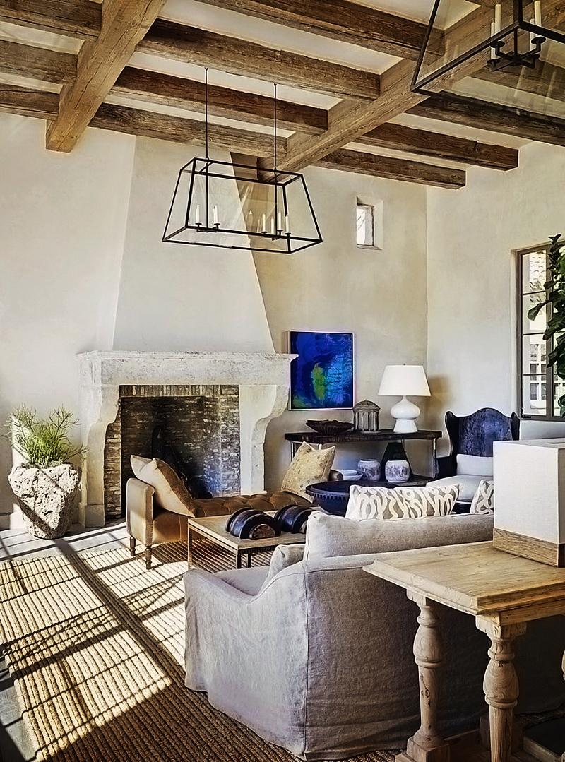 Rustic Eclectic Farmhouse In Sonoran Desert By David Michael Miller  Associates