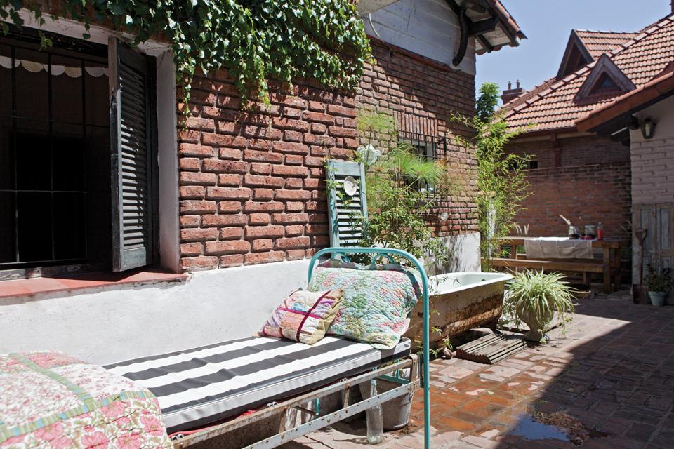 Espacio Living Una casa con estilo vintage moderno 13