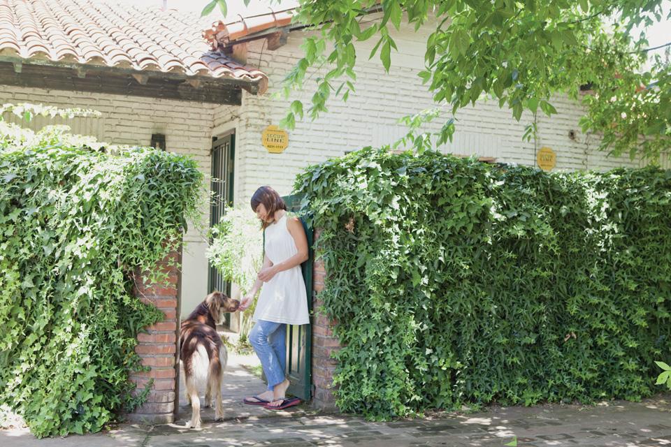 Espacio Living Una casa con estilo vintage moderno 16