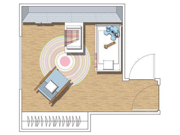 Micasa Una habitacion infantil plan