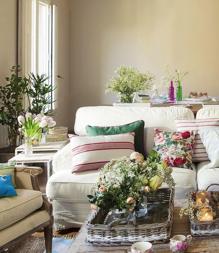 El Mueble Ideas para conseguir un salon fresco y primaveral 1