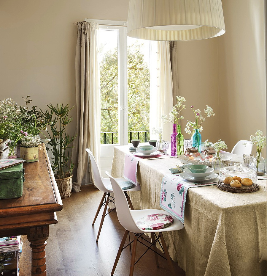 El Mueble Ideas para conseguir un salon fresco y primaveral 3