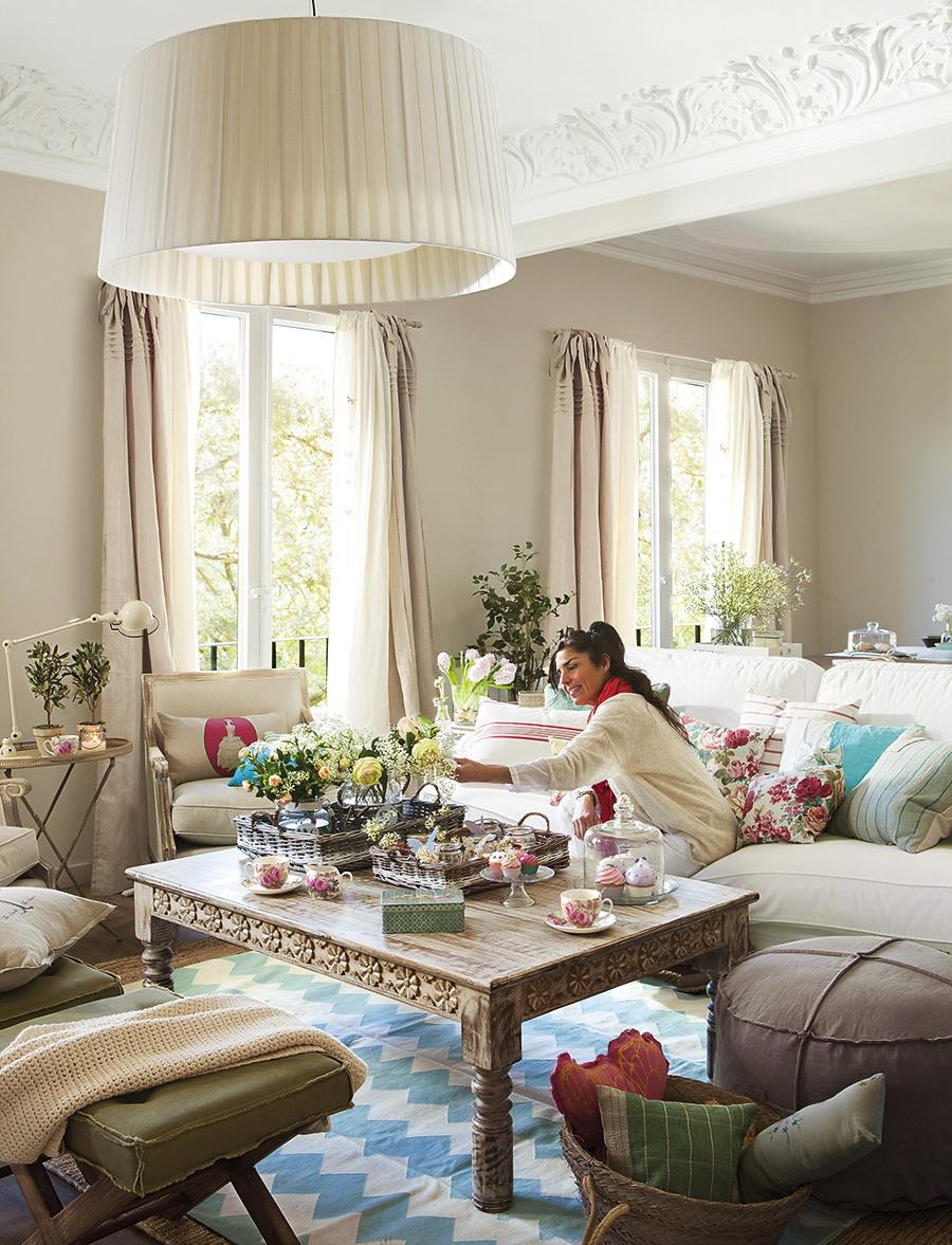 El Mueble Ideas para conseguir un salon fresco y primaveral 7