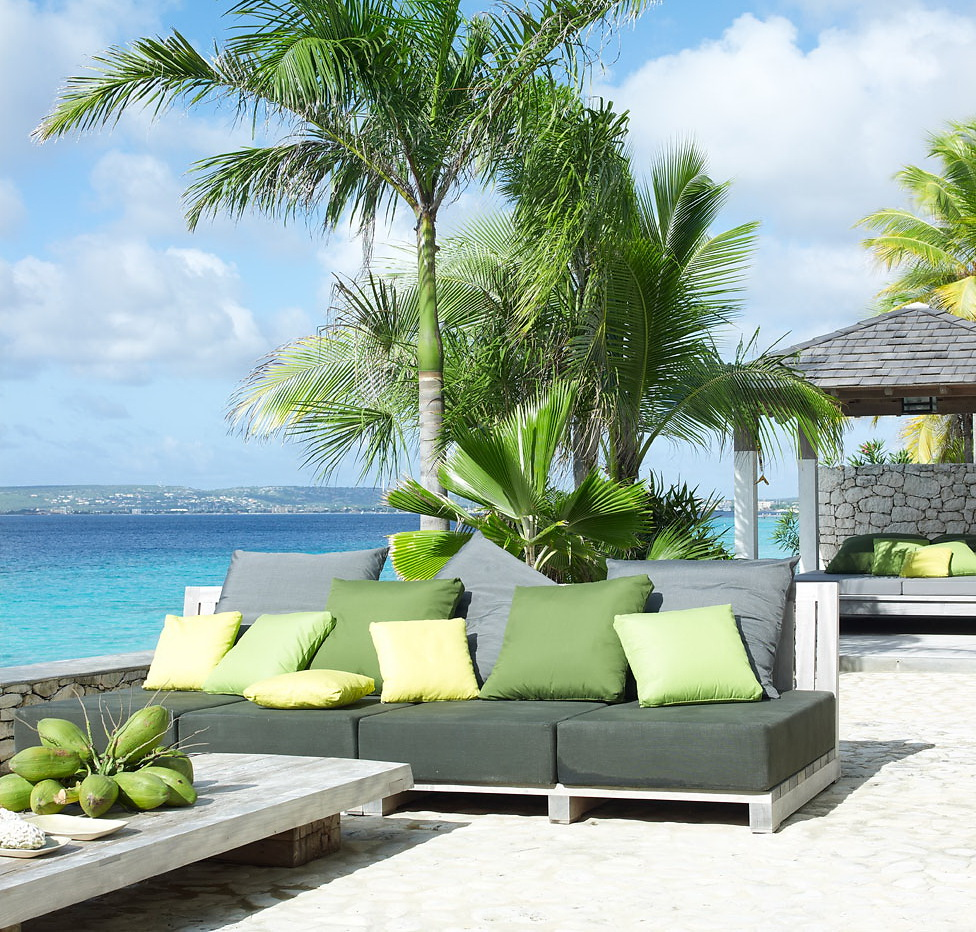Caribbean Beach: Decordemon: Barefoot Chic, Caribbean Beach Villa By Piet Boon