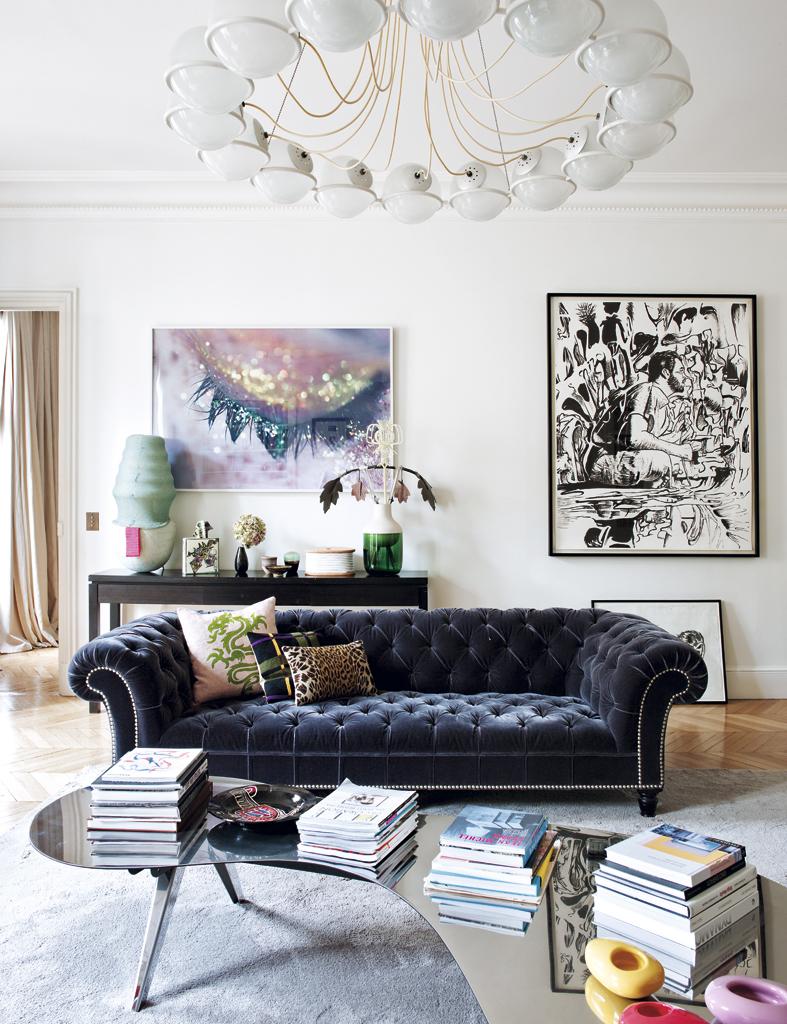 ELLE-un-exquisito-apartamento-en-paris 2