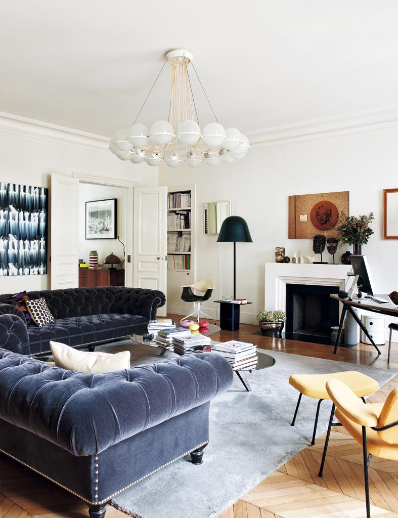 ELLE-un-exquisito-apartamento-en-paris 3