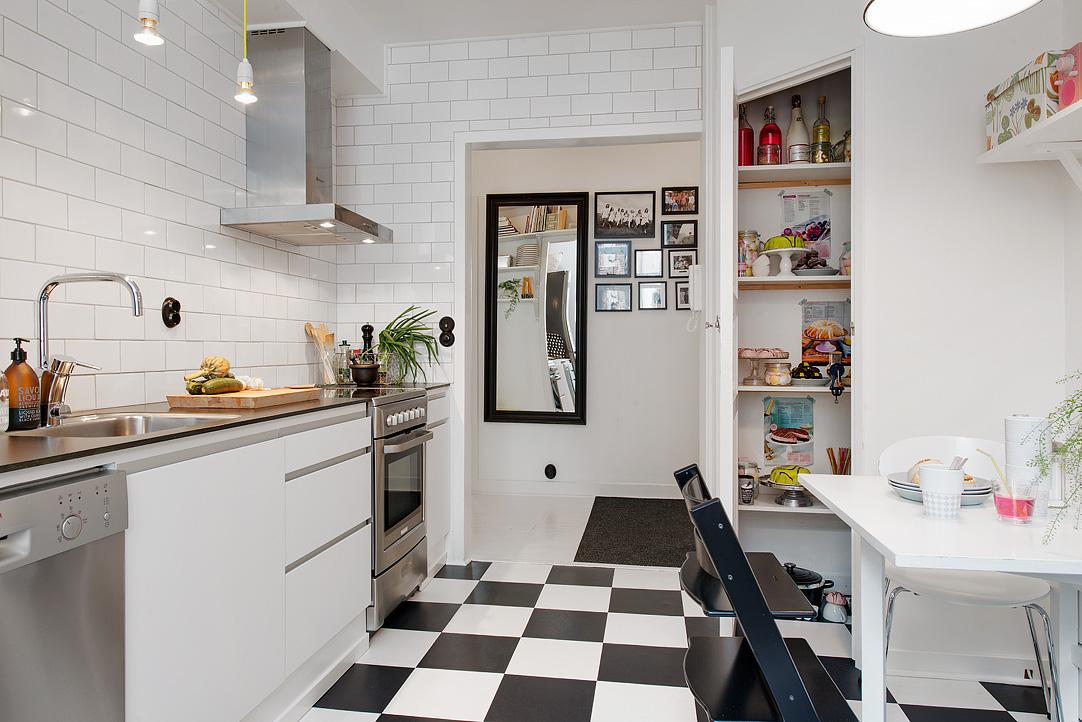 Интерьер кухни 8.4 кв.м