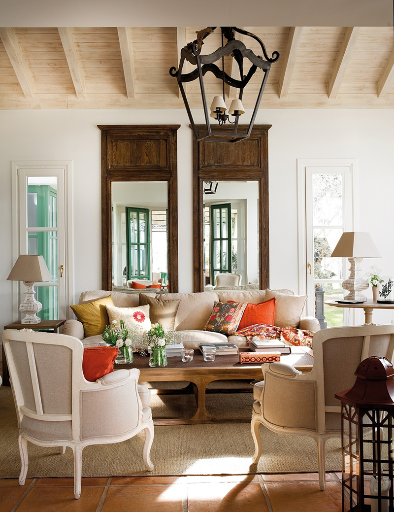 Shabby and charme for Casa in stile missione spagnola