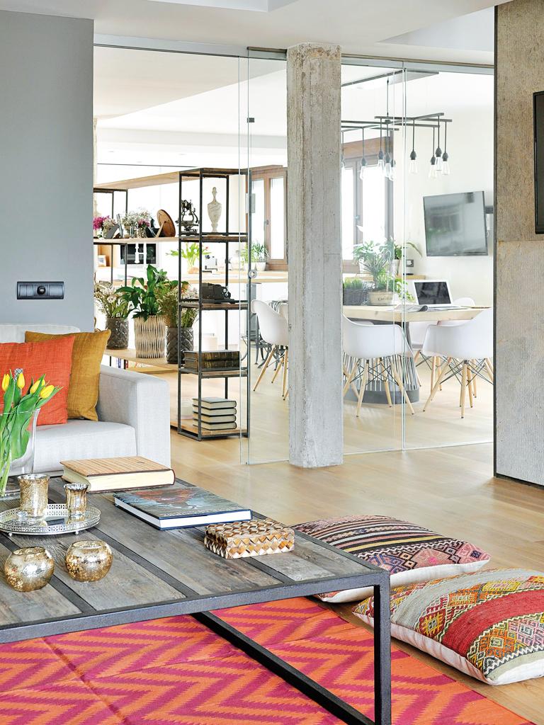 Micasa Un apartamento con decoración industrial 1