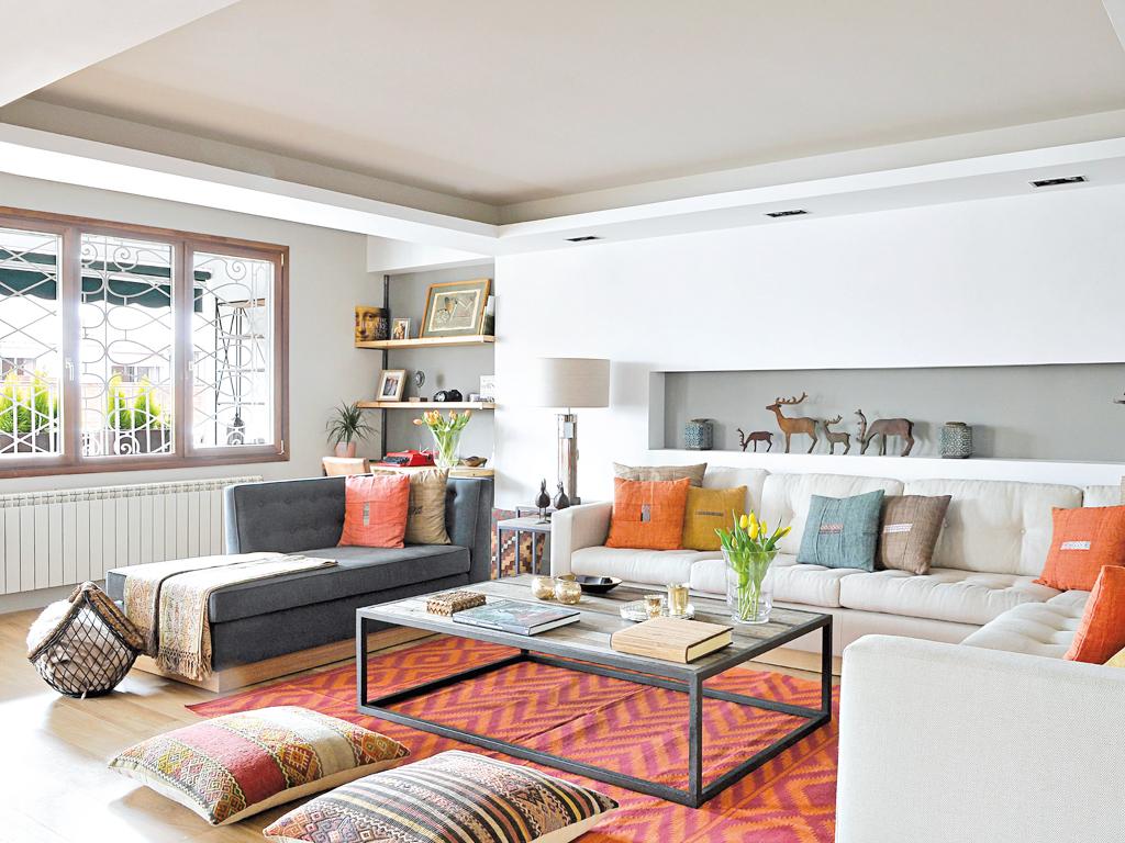 Micasa Un apartamento con decoración industrial 2