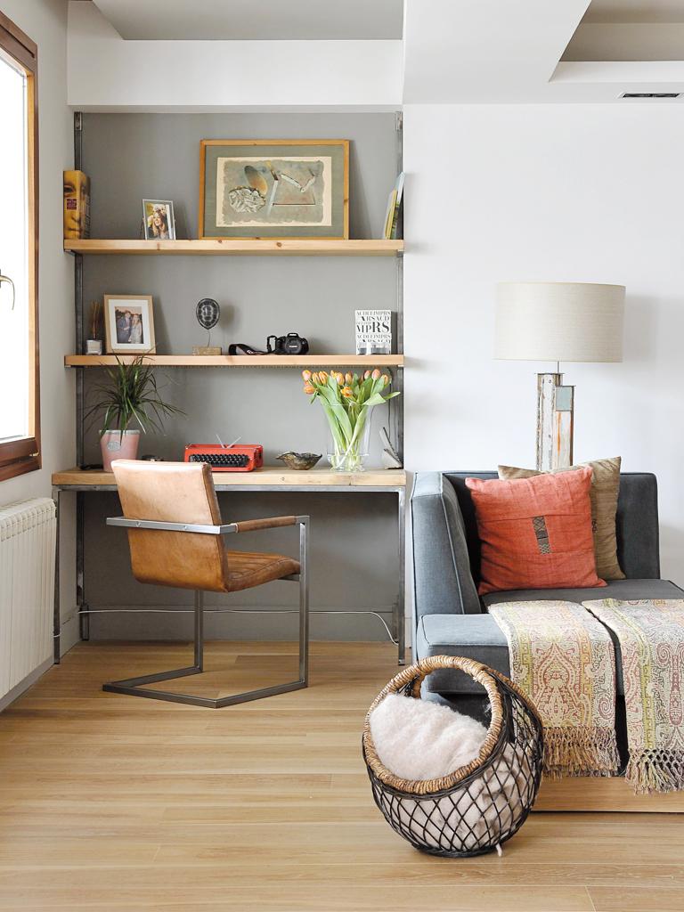Micasa Un apartamento con decoración industrial 4