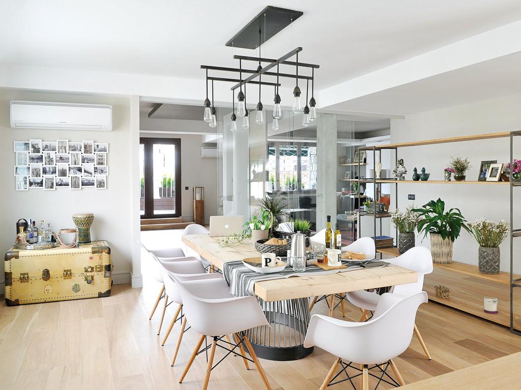 Micasa Un apartamento con decoración industrial 5