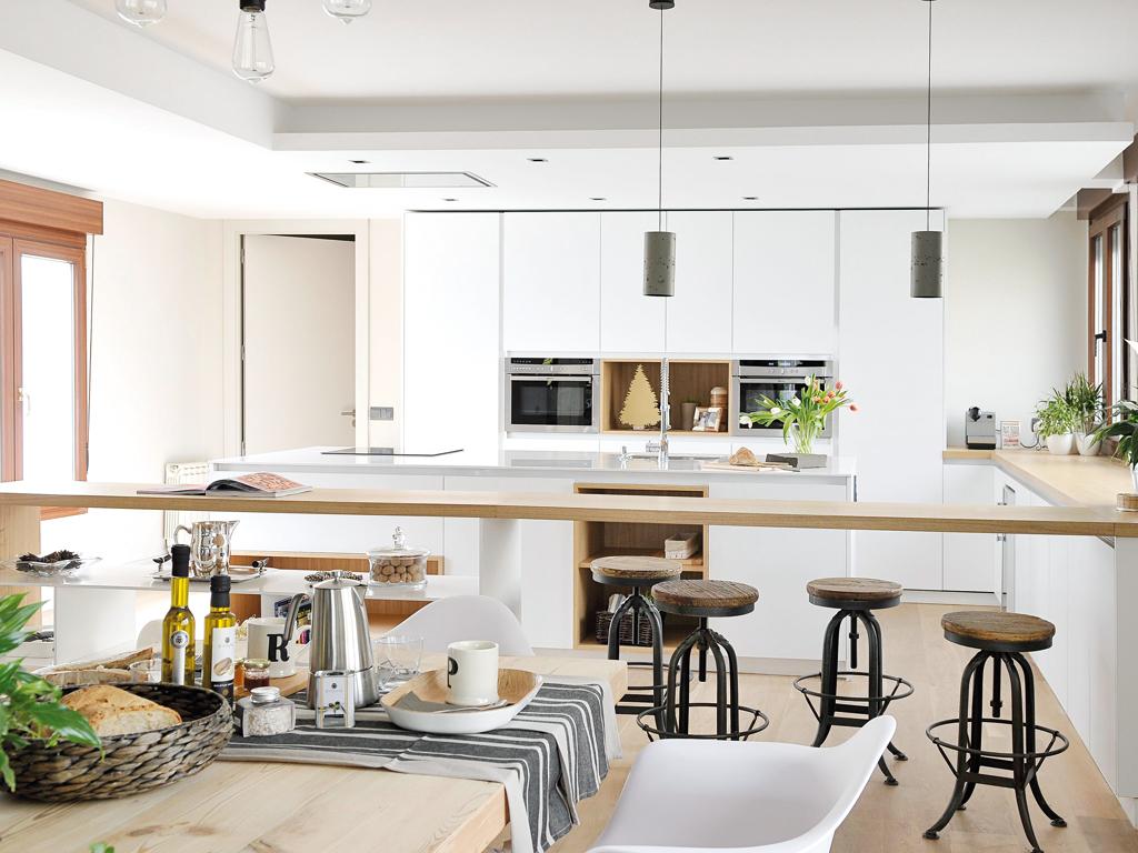 Micasa Un apartamento con decoración industrial 6
