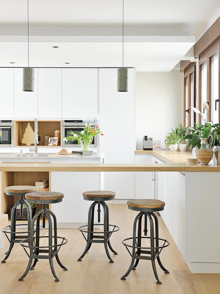Micasa Un apartamento con decoración industrial 7