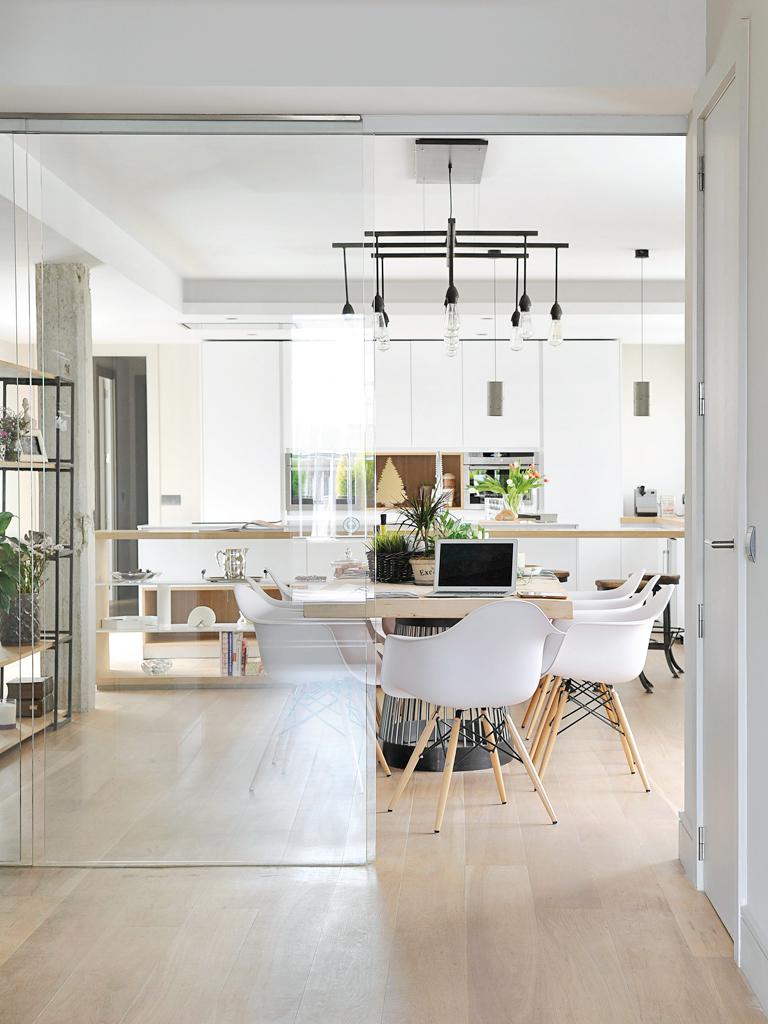 Micasa Un apartamento con decoración industrial 8