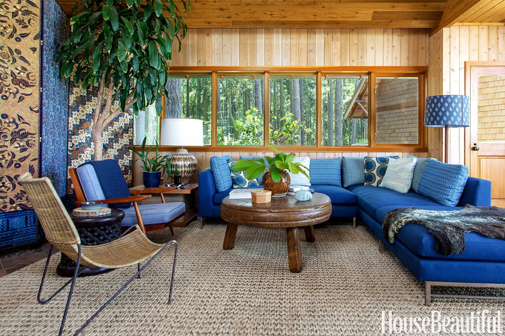 House Beautiful A Modern House That's Warm and Rustic 9