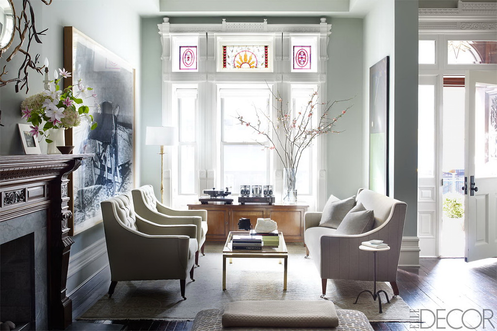 ELLE DECOR A HISTORIC HARLEM BROWNSTONE 1