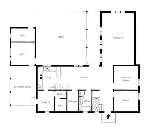 Peter Landgren 7 rum 181 kvm plan 1