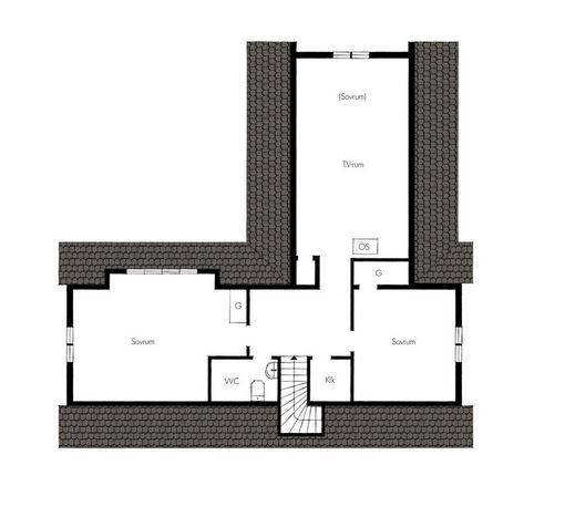 Peter Landgren 7 rum 181 kvm plan 2