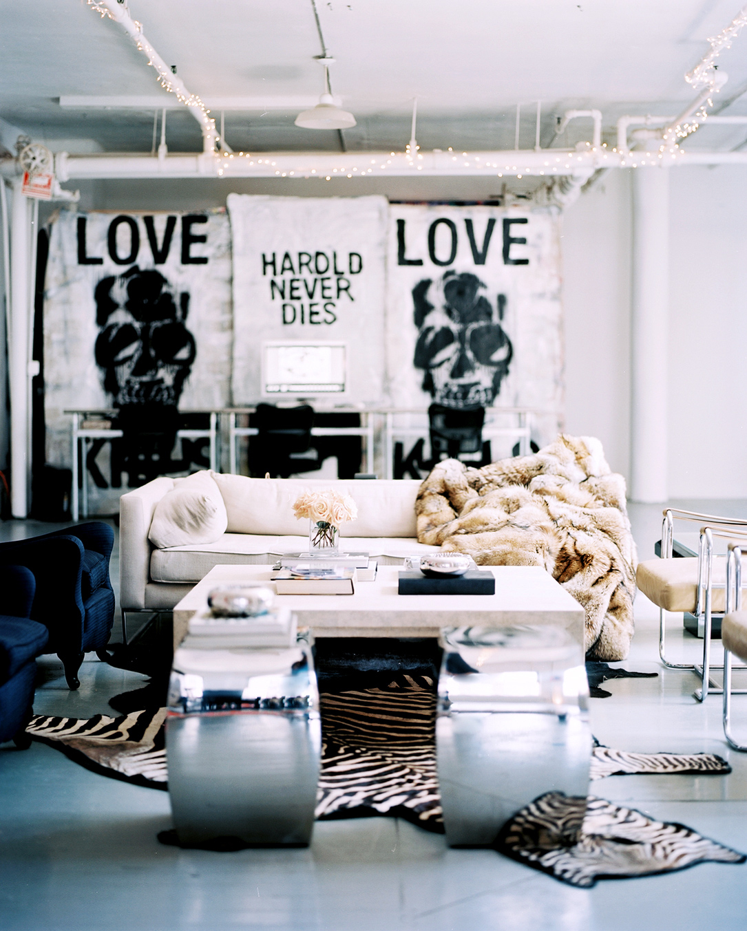 Decordemon artistic new york loft for Crazy interior designs