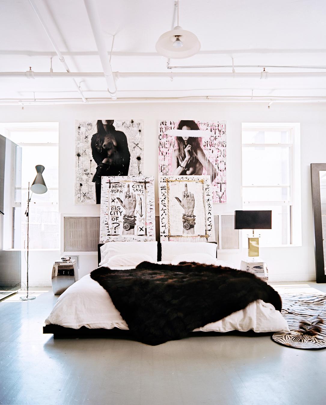 New York Lofts: Artistic New York Loft