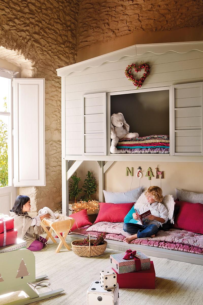 El Mueble Cuento de Navidad en el cuarto de los ninos 2