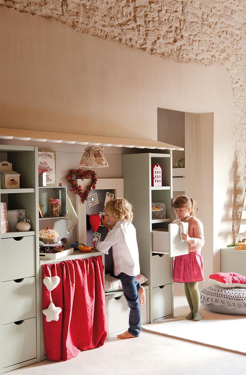 El Mueble Cuento de Navidad en el cuarto de los ninos 9