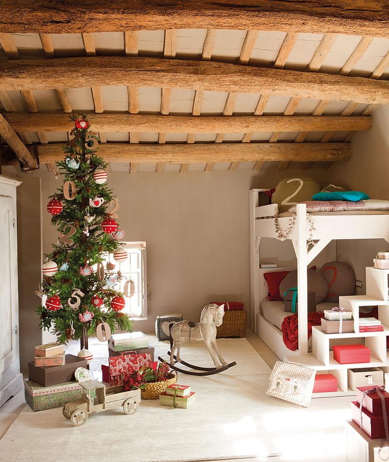 El Mueble Cuento de Navidad en el cuarto de los ninos 13