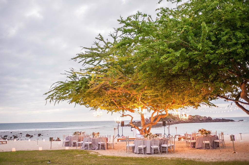 Style Me Pretty Elegant Beach Wedding in Punta Mita, Mexico 1