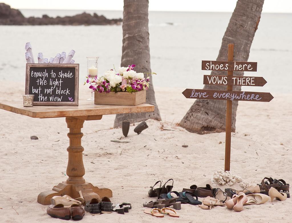 Style Me Pretty Elegant Beach Wedding in Punta Mita, Mexico 11