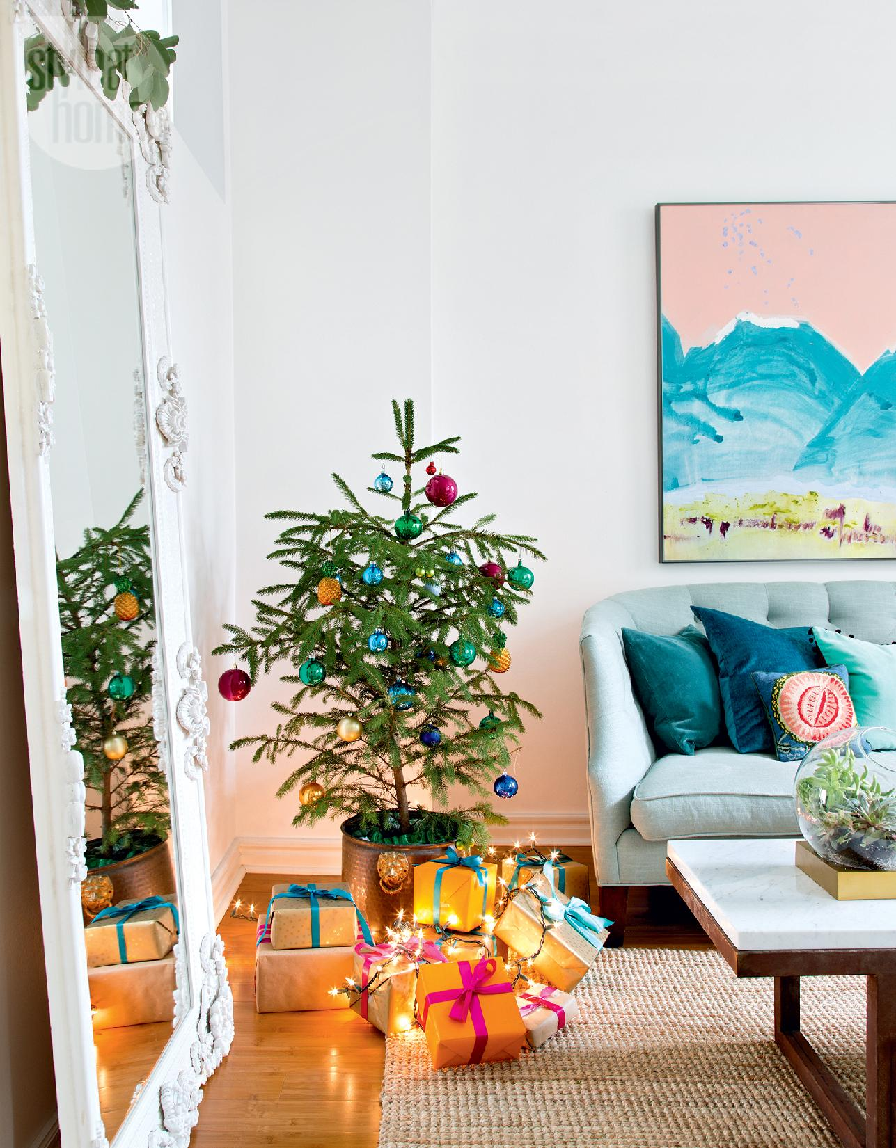 Style At Home Bright and bohemian holiday 1