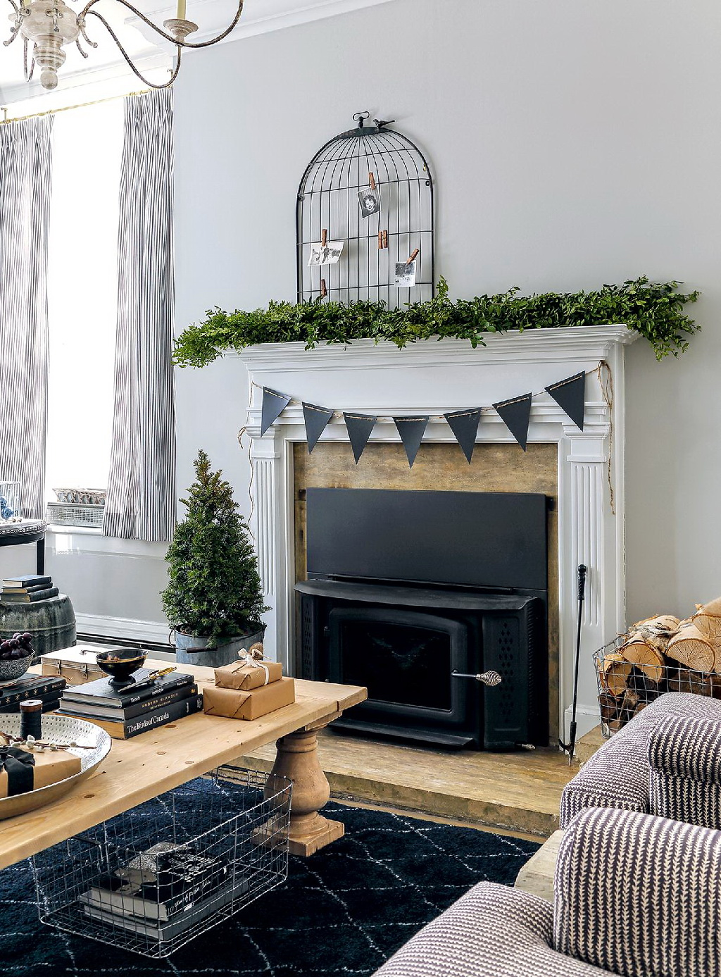 Style At Home Rustic Nordic holiday style 2