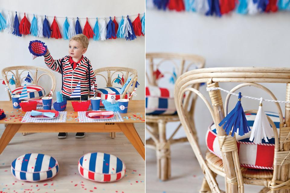Espacio Living Un cumple infantil con estilo marinero 2