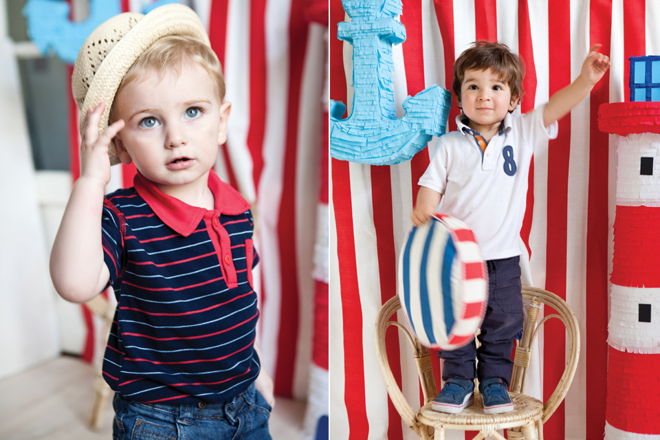 Espacio Living Un cumple infantil con estilo marinero 11