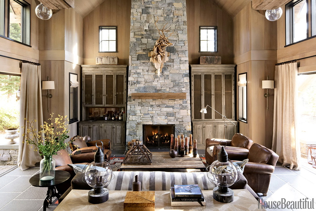 House Beautiful Rustic and Refined 1